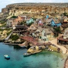 anchor bay, malta