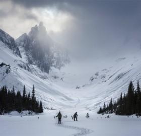 burstall pass, alberta, canada