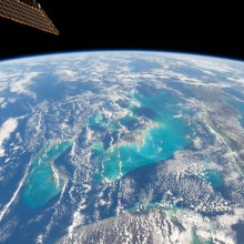 bahamas from outer space
