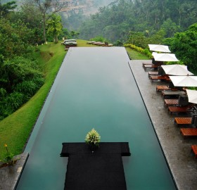 beautiful hillside resort, bali