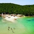 beach in sivota, epirus in greece