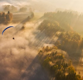 paragliding in czech republic