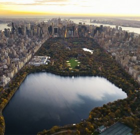 amazing view of central park, NYC