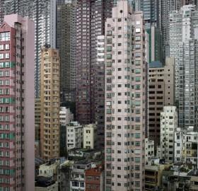 living cubicles, hong kong