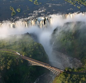 amazing victoria falls, zambia