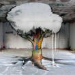 forced perspective street art