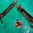 happy on water, children of indonesia