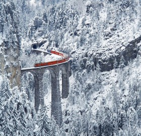 most amazing railway, switzerland