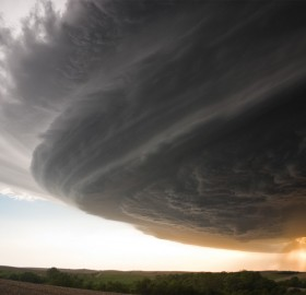 supercell across nebraska