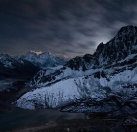 universe awakening, gokyo, nepal