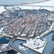 fort bourtange at winter, holland