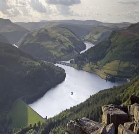 ladybower reservoir, england