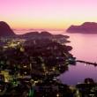 pink nordic sunset
