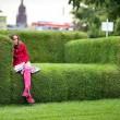 big grass sofa, frankfurt, germany