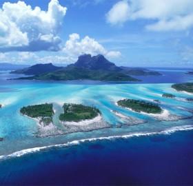 bora bora islands, french polynesia