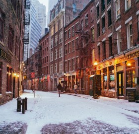 new york city under snow