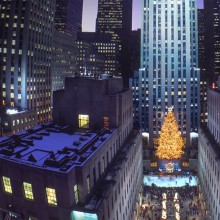 rockefeller center christmas tree, new york