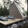 small cabin in finland