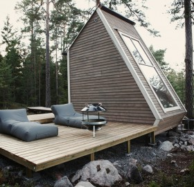 small cabin in finland
