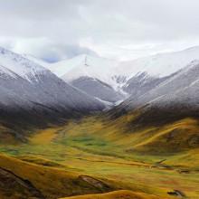 tibetan plateau landscape