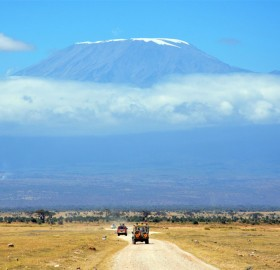 view on mount kilimanjaroa, kenya