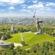 "amazing ""the motherland calls statue"", russia"