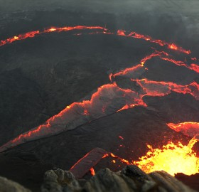 erta ale, the most active volcano in ethiopia