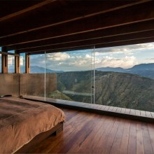 wooden room with a view