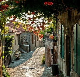 street of provence, france