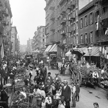 streets of new york in 1900