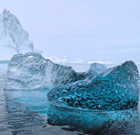 10,000 year old glacial ice