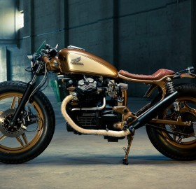 awesome customized motorcycle, honda cx500