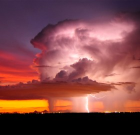 storm over tucson, arizona