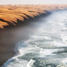 where the namib desert meets the sea