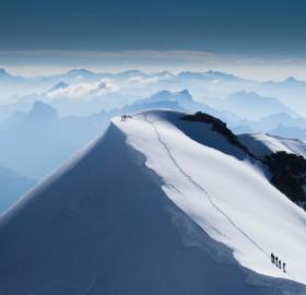 east summit of piz palu mountain