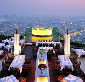 hotel lebua at state tower, bangkok