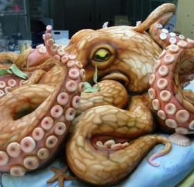 amazing octopus cake