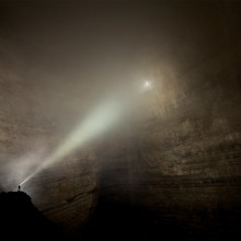 explore giant caves in wulong county, china