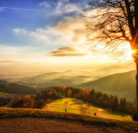 sunrise in austria