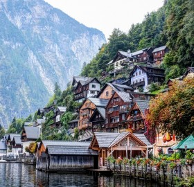 beautiful hallstatt village, austria