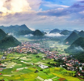 beautiful vietnam valley