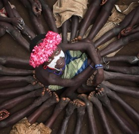 children of karo tribe, ethiopia