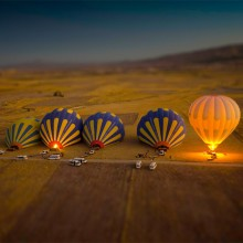 tilt-Shift hot air balloons