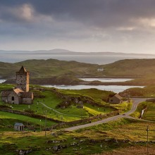 15th-Century Church on Isle of Lewis, Scotland
