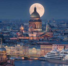 beautiful saint petersburg, russia