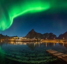 Northern Lights Over Lofoten, Norway