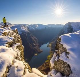 On The Edge, Nærøyfjord, Norway