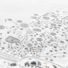 Art On The Frozen Lake, Colorado