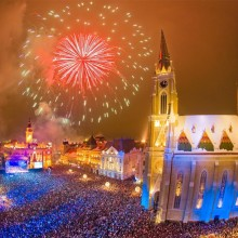 City Square Celebration, Novi Sad