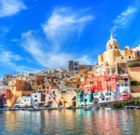 Colorful Procida, Naples Province, Italy